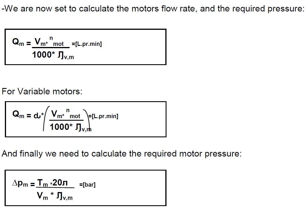 Servo Motor Torque Calculation Formula